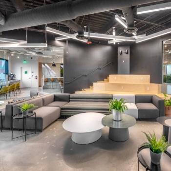 合肥办公室装修,开放式办公空间设计,提升办公资源的利用率