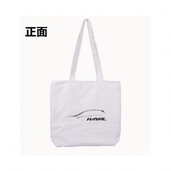 14安加厚帆布单肩手提购物布袋广告袋