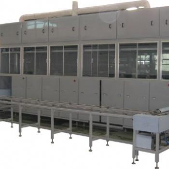 苏州定做变速箱外壳环保型水溶剂除油非标全自动机械臂超声波清洗机