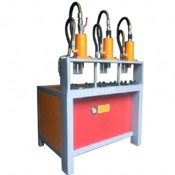 管材冲孔机操作视频 方管冲孔机模具 角钢冲孔机