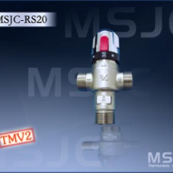 曼德束DN20热水温控混合器