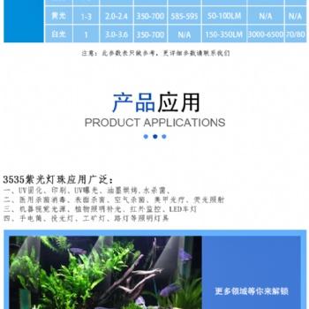 大量供应陶瓷3535模顶 白光 色光产品 水族灯 植物灯专用