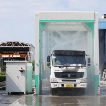 工程用龙门式洗车机 固定式安装