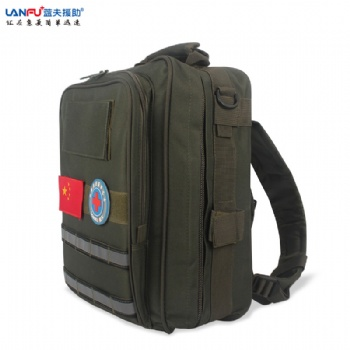 蓝夫家庭应急包LF-12105野外救援装备包户外双肩背包