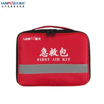 蓝夫手提急救包LF-12002便携式户外防护包家庭**包