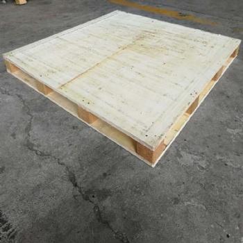 潍坊寿光木栈板规格定制 建材涂料用出口免熏蒸托盘送货上门