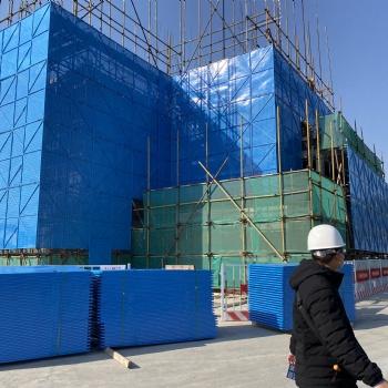 爬架网片高层工地建筑安全防护网防坠外围冲孔网外架钢板网外墙网