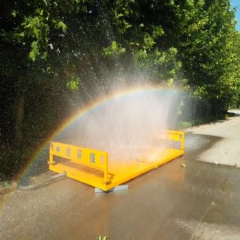 建筑工程洗轮机 冲洗速度快节水