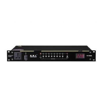 ABL V-1089 中控9路电源时序器 带RS232 显示屏 单路控制