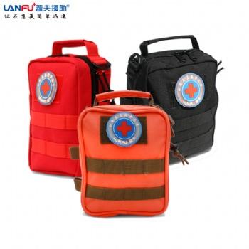 蓝夫家庭急救包LF-12203户外工作防护包单肩收纳包