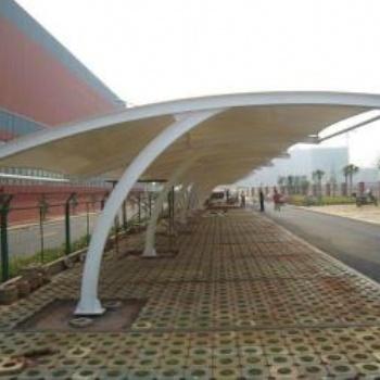 武汉专业制作环保美观的膜结构自行车棚、膜结构看台等各类棚