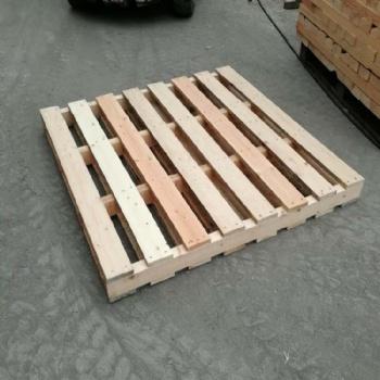 青岛木质托盘出口图片 集装箱用标准木栈板厂家常年定制