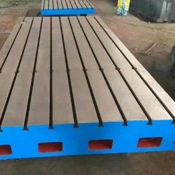 专业生产铸铁T型槽装配平台
