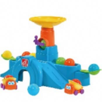 托育教具--轨道球塔