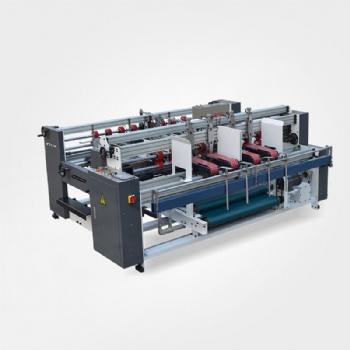 高速AB片粘箱机 半自动双片多工位粘箱机 纸箱成型设备 定制纸箱粘箱机