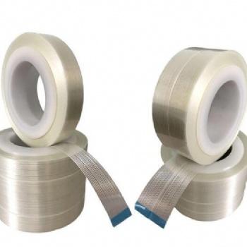 玻璃条纹纤维胶带 玻璃纤维固定胶带