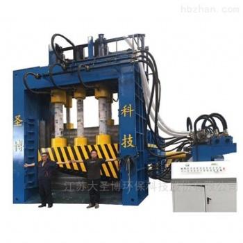 剪重废料的龙门剪,大圣博Q91龙门式剪切机1250吨