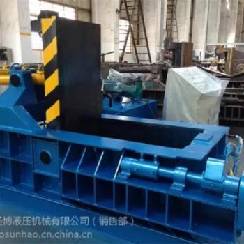 长春废铁全自动圣博1500吨压块打包机江阴厂家