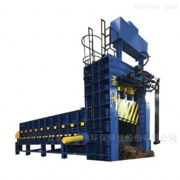 唐山大型废钢压块机一千五吨华宏圣博价格