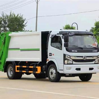 东风多利卡8方压缩垃圾车价格,厂力垃圾车厂家销售