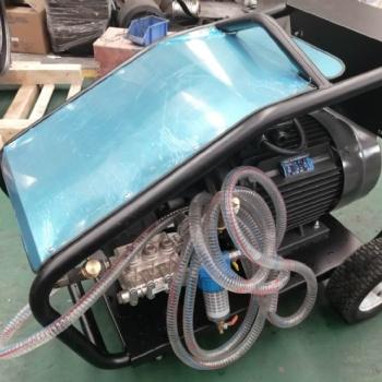 500公斤高压除锈清洗机 水加沙除锈除漆清洗机