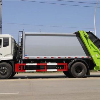 环卫垃圾车 东风天锦8吨(12-14立方)压缩式垃圾车