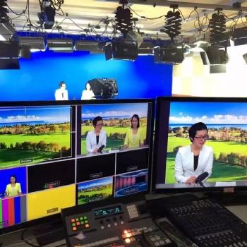 天创华视 虚拟演播室校园电视台搭建 影视节目制作