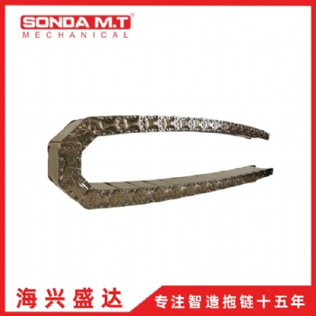 广东海兴盛达机械护线GLE100穿线钢制拖链