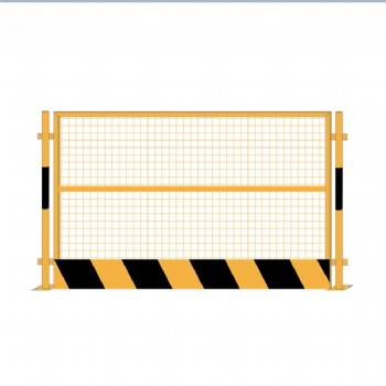 网片竖管警示栏 临时围挡可移动隔离护栏 沉淀池护栏