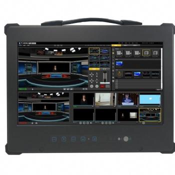 录播直播导播系统切换抠像加字幕台标多功能录播一体机