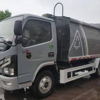 东风国六6方压缩垃圾车