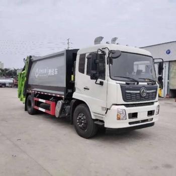 东风天锦8吨(12-14立方)环卫压缩垃圾车