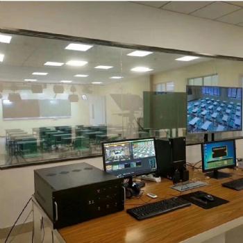 中国教育一台在线直播 录播室搭建装修