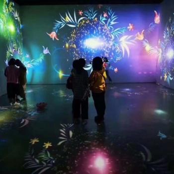 学前教育装备豪派科技MagicFloor智能互动游戏课堂沉浸式情境教室