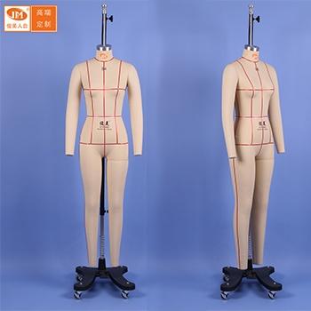 俊美人台 国标女装全身84码可伸缩肩膀板房模特公仔立裁人台