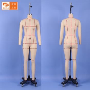 俊美人台 欧美标准36码跨境电商平台适用板房打板试衣模特立裁公仔