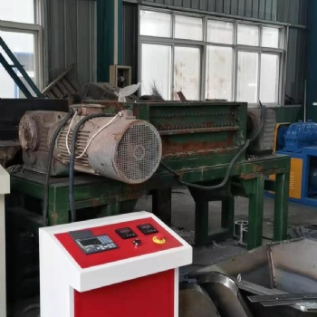 山东泰州二手1400型橡胶撕碎机配45kw电机10万转让