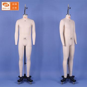 俊美人台 国标欧美男装服装道具假人模特立裁专用公仔模特