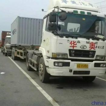 天津港码头大马力集卡拖车当天还柜
