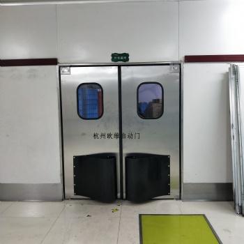 杭州面包房食品车间防撞自由门
